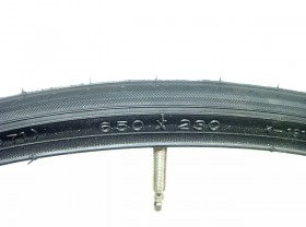 타야쥬브(650*23C, FV 48L 켄다 흑색, 철인3종)