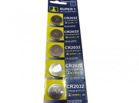 건전지(CR2032, 원형, 수입)