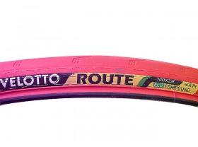 타이어(700*23C, 벨로또 루터 390g, 철심, 백색/적색/흑색)