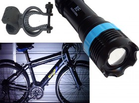 LED라이트(1W LED, LC-F101, 줌, 청색/적색) 기획