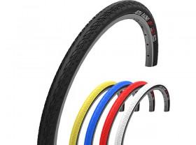 타이어(26x1.50, 벨로또 세티아레이싱, 철심, 흑색/적색)