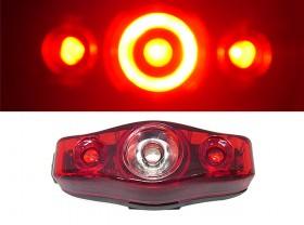 깜박등(XC-193R, 3구 LED, 빛확장/스팟기능)