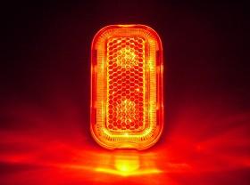 깜박등(2구 LED, XC-257R, 신모델)