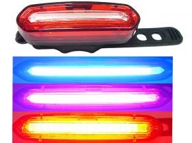 깜박등(COB LED, FXH-0105#, 3색변환후미등, 충전식)