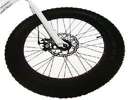 타이어(26*3.0, 팻바이크용 K1008A, 흑색) 대만켄다기획