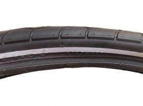 타이어(24*1.50, K193, 철심, 흑색형광띠) 대만기획