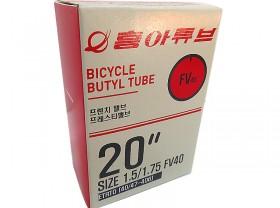 쥬브(20*1.50/1.75, FV / FV 40L 흥아)  비닐/BOX 포장