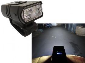 라이트(충전식 USB, TWO-LED, 내장충전, 많이 밝음)