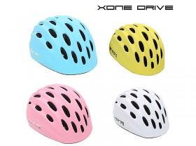 아동핼맷(엑스원-드라이브 HB10, 청색/백색/핑크)