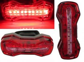 깜박등(COB LED, DMFL-526, 9기능, 가로/세로, USB충전)